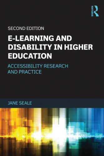 e-Learning and Disability in Higher Education front cover