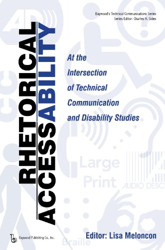 Front cover of Rhetorical AccessAbility edited by Lisa Meloncon